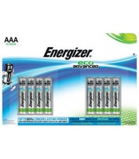 Energizer Eco Advanced MAX AAA/LR03 8-pk