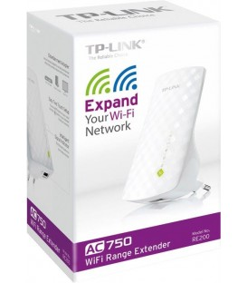 TP-Link RE200 Dual Band extender, AC750, RJ45