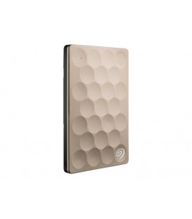 Seagate 2 TB Backup Plus Ultra Slim, USB 3.0, Gold
