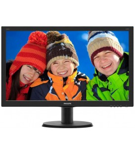 "Philips 24"" LED 240V5QDA, 1920x1080 IPS, 5ms, 10m:1, Speakers, VGA/DVI/HDMI"