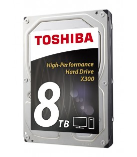 "Toshiba X300 8 TB High Performance 3.5"" harddisk"