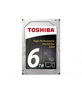 "Toshiba X300 6 TB 3.5"" 7.2K, High performance"