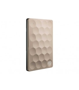 Seagate 1 TB Backup Plus Ultra Slim, USB 3.0, Gold