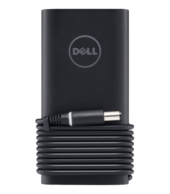 Dell Power EURO Adapter, 65 W with 3 pins, 91 cm cable, black