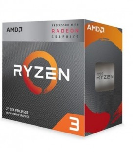 AMD Ryzen 3 3200G 4.0 GHz, 6MB, AM4 sokkel, innebygd grafikk