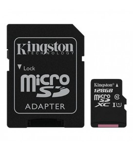 Kingston microSD 128 GB Canvas Select