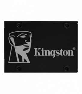 "Kingston KC600 512 GB SSD SATA-3, 2.5"" TLC minne"