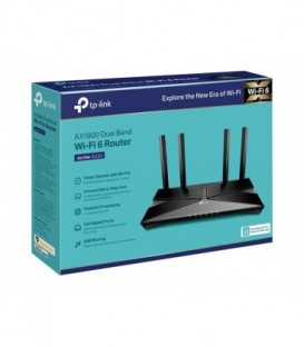 TP-Link Archer AX20 WiFi 6 Router, AX1800, WiFi 6, OFDMA, MU-MIMO, Beamforming, WPA3