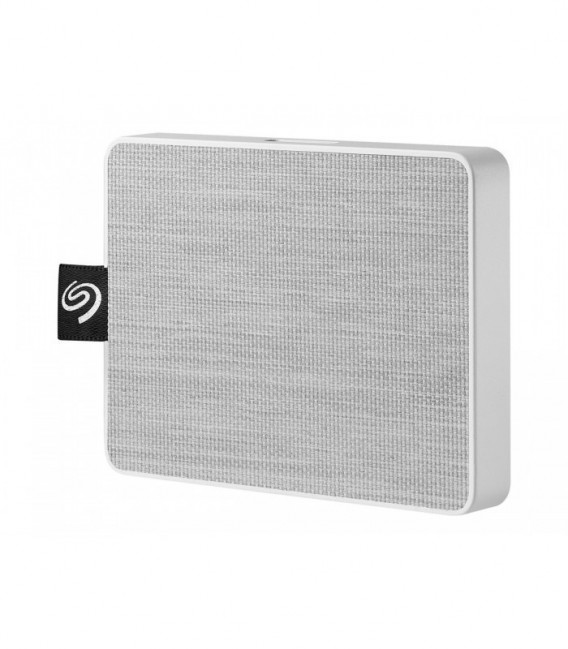 Seagate One Touch SSD 500 GB, White, USB-3.0, ekstern lagring