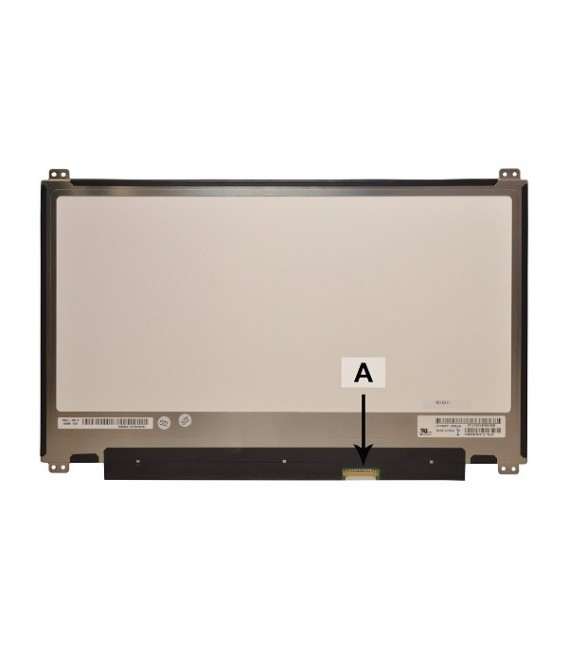 """CoreParts 13,3"""" LCD FHD Matte, 1920x1080 LED Screen, 30pins Bottom Right Connector, Top Bottom 4xBrackets, IPS"""
