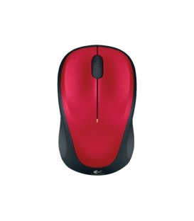 Logitech M235 Wireless Mouse, Red, Unifying